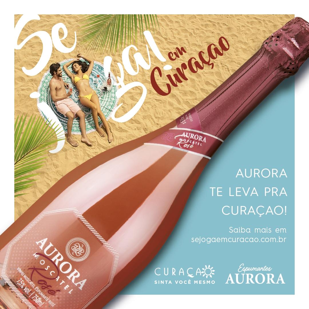 Vinicola Aurora lança promoção que pode te levar a Curaçao
